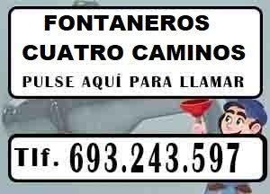 Fontaneros Cuatro Caminos Madrid Urgentes